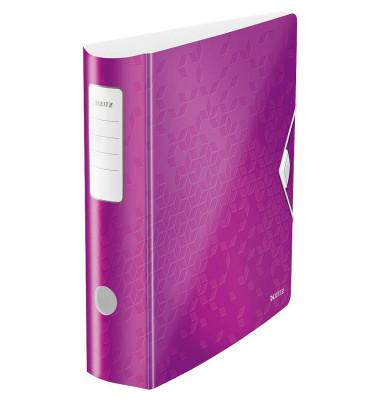 WOW 11060062 violett Ordner A4 82mm breit