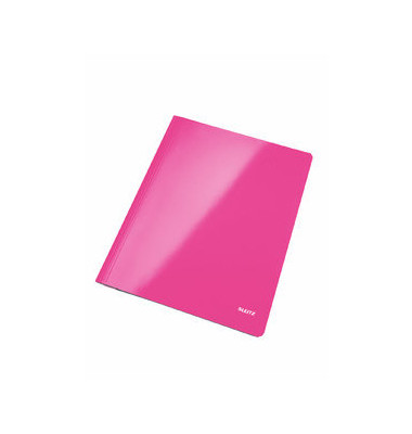 Schnellhefter WOW 3001 A4 pink metallic 300g Karton kaufmännische Heftung / Amtsheftung bis 250 Blatt