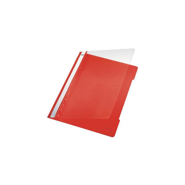 leitz sichthefter standard plastik hellrot a4 bl ci farbe. Black Bedroom Furniture Sets. Home Design Ideas