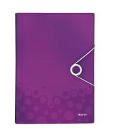 Fächermappe WOW A4 PP violett 254x330x38mm