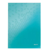 Notizbuch WOW A4 eisblau 215x302x14 kariert