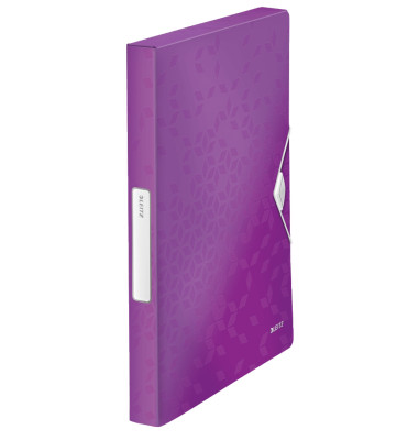 Ablagebox WOW A4 PP 30mm violett 250x330x37mm