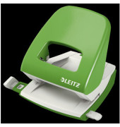 Bürolocher NeXXt Serie Metall hellgrün 30 Blatt CI Farbe