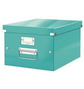 Aufbewahrungsbox Click & Store WOW eisblau 281x369x200 f.A4