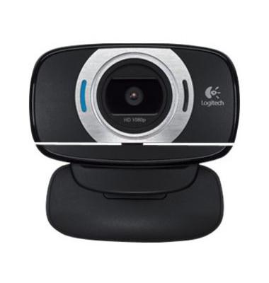 C615 HD Webcam USB schwarz
