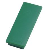 Rechteckmagnete grün 54x19x8mm 10 St