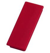 Rechteckmagnete rot 54x19x8mm 10 St