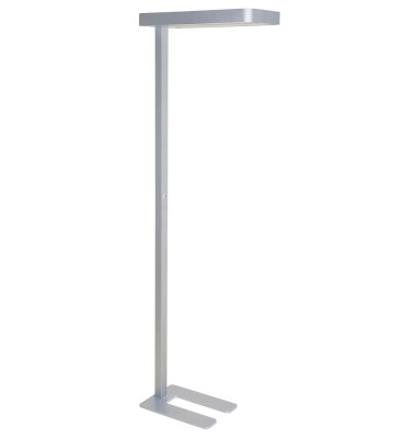 LED Standleuchte MAULjanus silber H:195cm max.40W