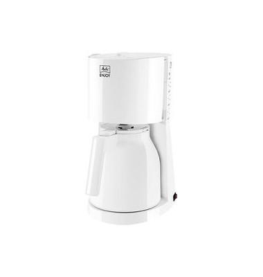 Kaffeemaschine Enjoy Therm II, weiß, Thermoskanne für bis zu 8 Tassen