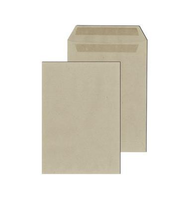 Versandtaschen C5 ohne Fenster selbstklebend 80g grau 500 Stück Recycling