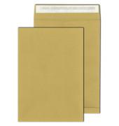 Faltentaschen E4 ohne Fenster 40mm Falte haftklebend 150g braun 250 Stück