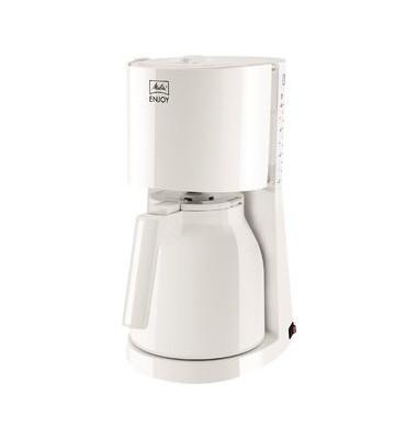 melitta kaffeemaschine enjoyt wei 8 tassen 1000w. Black Bedroom Furniture Sets. Home Design Ideas