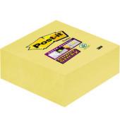 Haftnotizwürfel Super Sticky gelb 76x76mm 270 Bl