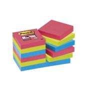 Super Sticky Notes 62212SJ farbig 48x48mm 12x90 Bl