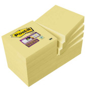Super Sticky Notes 62212SY gelb 48x48mm 12x90 Bl