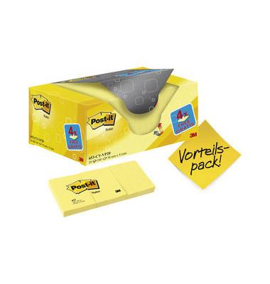 Haftnotizen Promo 653Y-20 gelb 51x38mm 20x100Bl