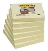 Super Sticky Notes 90 Bl PEFC kanar.GB 76x76mm 65412SY