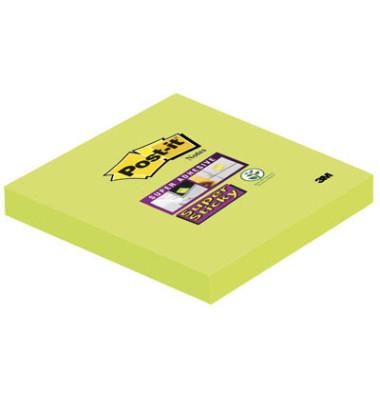 Super Sticky Notes 6546SA lindgrün 76x76mm 1x90 Bl