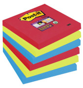 Super Sticky Notes 6546SJ farbig 76x76mm 6x90 Bl