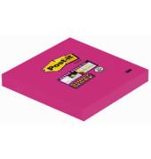 Super Sticky Notes 654S pink 76x76mm 1x90 Bl