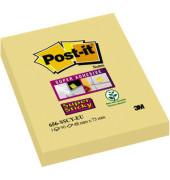 Haftnotizblock Super Sticky gelb 48x76mm 90 Bl