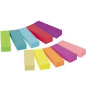 Index Haftstreifen Page Marker 10 Intensivfarben 12,7x44,4mm 10x50 Bl