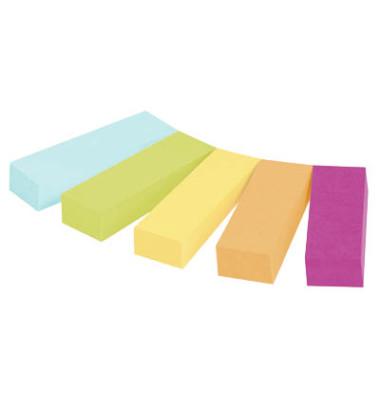 Index Haftstreifen Page Marker Signale neon sortiert 12,7x44,4mm 5x50 Bl