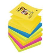 Super Sticky Z-Notes RdJ Coll 6x90Bl