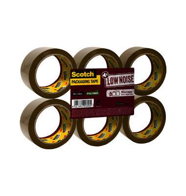 Packband 309 braun 50mm x 66m 6 Rollen