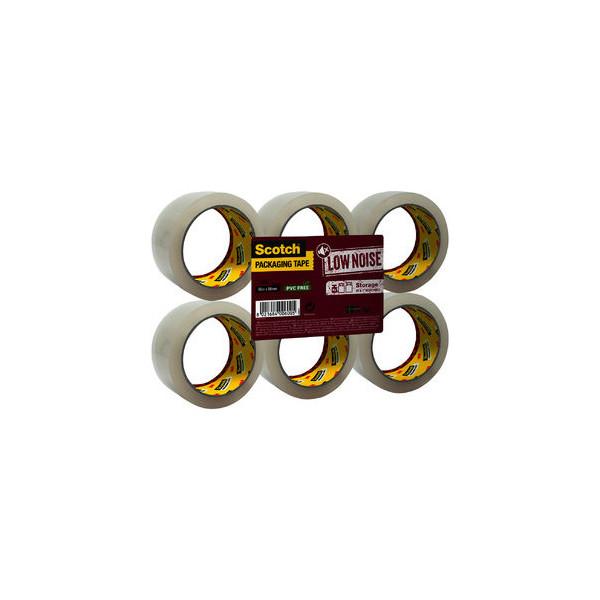 Scotch packband 309 transp 50mmx66m 6 rollen for Schreibtisch 1m lang