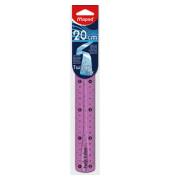 Lineal Kunststoff flexibel 20cm