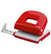 Locher E216 025-0539 rot bis 1,6mm 16 Blatt mit Anschlagschiene