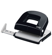Locher E216 025-0538 schwarz bis 1,6mm 16 Blatt mit Anschlagschiene