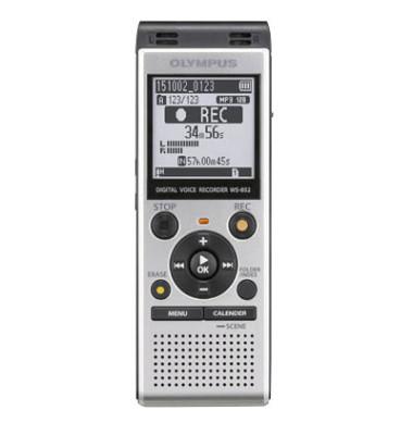 Digital Voice Recorder WS-852 grau 4GB MP3