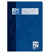 Schulheft A4 Lineatur 27 liniert mit Doppelrand weiß 16 Blatt