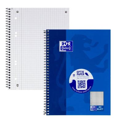 Collegeblock Office 100050393, A5 kariert, 90g 80 Blatt, 6-fach-Lochung