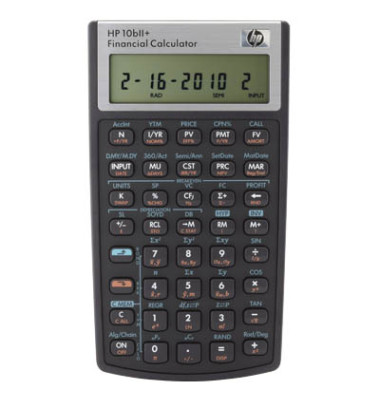 Taschenrechner 10bII+ 12-stellig schwarz