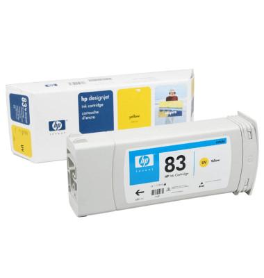 Druckerpatrone Nr 83  UV gelb 680ml