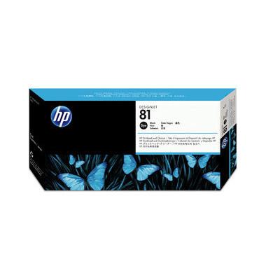 Druckkopf Nr.81 für dye schwarz mit Reiniger
