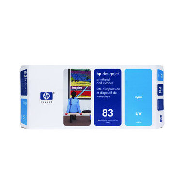 Druckkopf Nr.83 für cyan mit Reiniger UV-Best.
