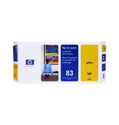 Druckkopf Nr.83 für gelb mit Reiniger UV-Best.