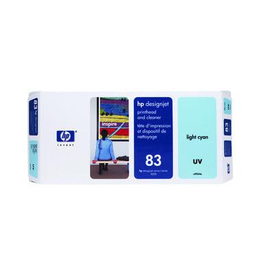 Druckkopf Nr.83 für hellcyan mit Reiniger UV-Best.