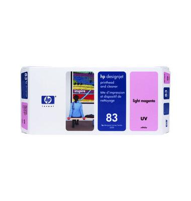 Druckkopf Nr.83 für hellmagenta mit Reiniger UV-Best.