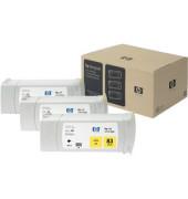 Druckerpatrone Nr 83  UV gelb 3x 680ml Multipack