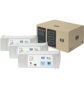 Druckerpatrone 83  UV hellcyan 680ml 3er Pack