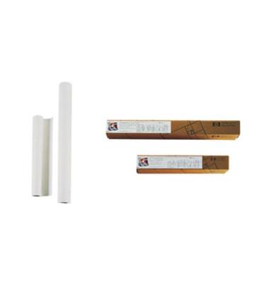 Plotterinkjetpapier 610mm x 45,7m 90g hochweiß 1 Rolle