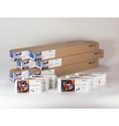 Plotterinkjetpapier 1524mm x 30,5m 130g hochweiß matt beschichtet 1 Rolle
