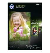 Inkjet-Fotopapier A4 Q2510A Everyday einseitig glänzend 200g 100 Blatt