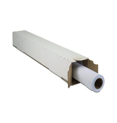 Plotterinkjetpapier Universal 594mm x 91,4m 80g weiß opak matt 1 Rolle