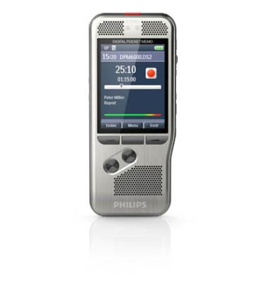 Digital Pocket Memo 6000 silber DSS/MP3